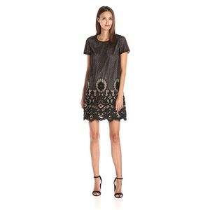 CeCe Black Lace Dress from Nordstrom - 6